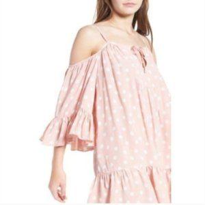 NWT Tularosa Hattie Shift COLD SHOULDER Dress M